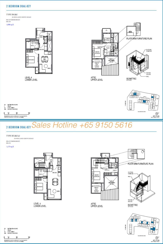 Parksuites Condo Floor Plan 3