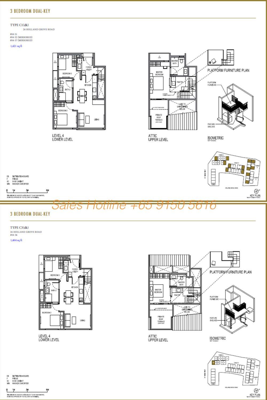Parksuites Condo Floor Plan 5