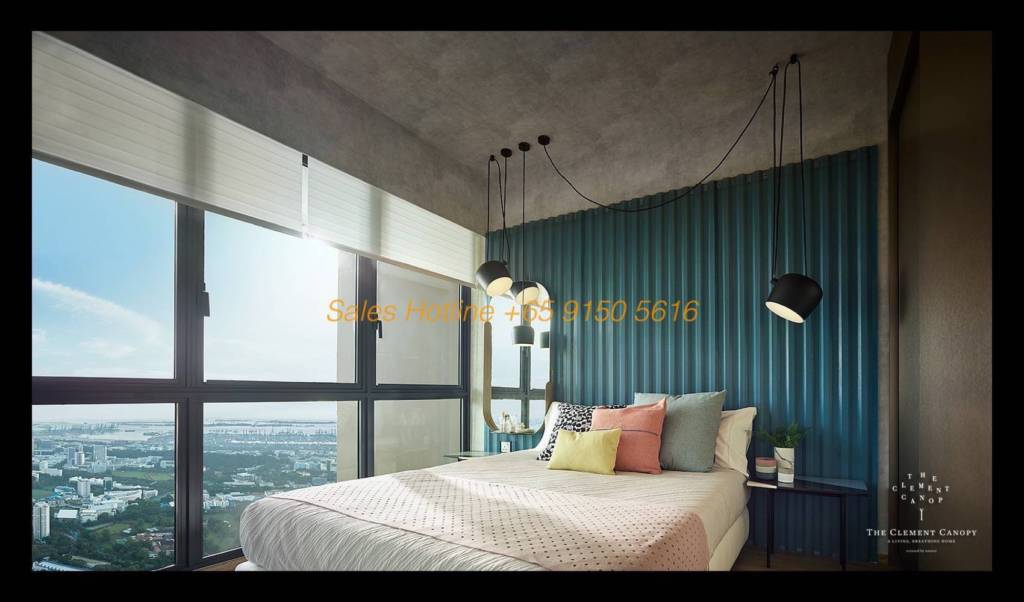 The Clement Canopy - Bedroom