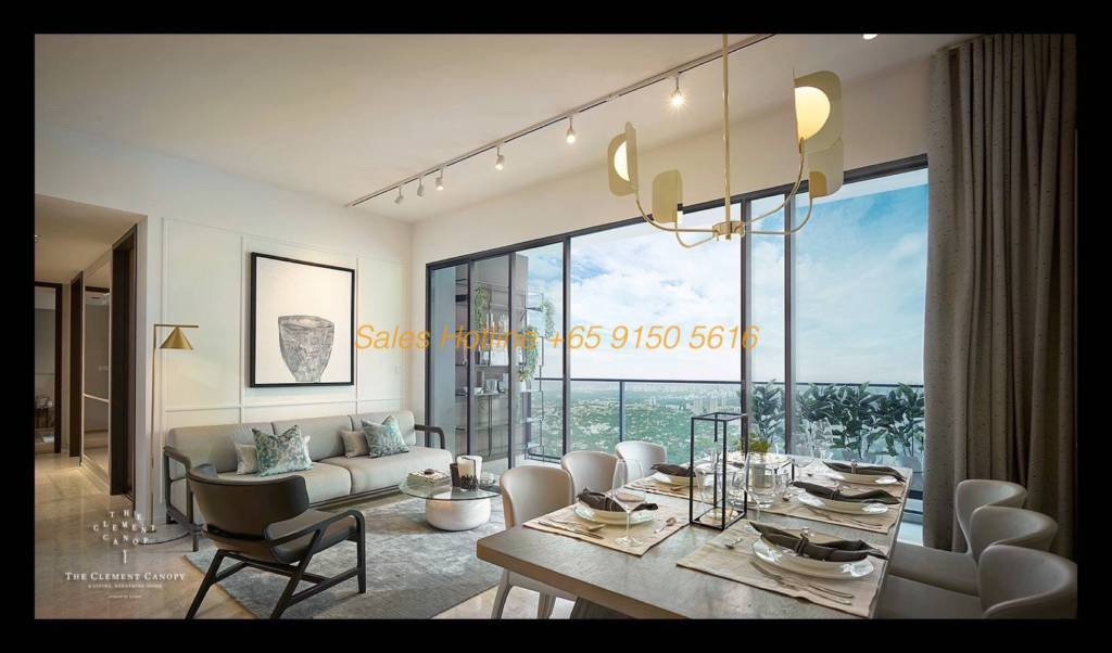 The Clement Canopy - Dining Living Room